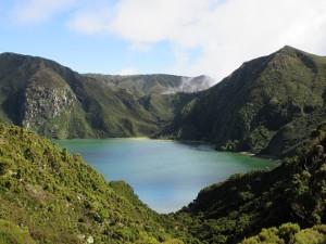 Lagoa do Fogo v celé své kráse