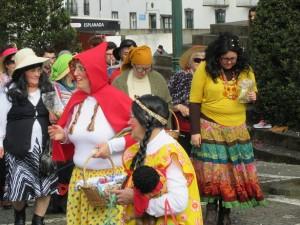 Karnevalový průvod v Nordeste