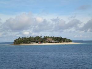 Jeden z nejmenších ostrovů.