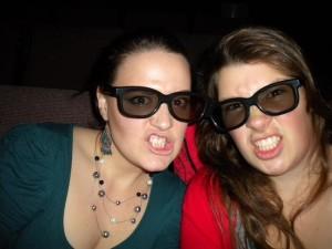 Každé úterý bylo kino za 5 dolarů, a tak jsem každý týden po dobu 5 měsíců chodila do kina. Bylo to super.