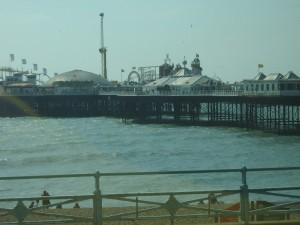 Zábavní molo v Brightonu