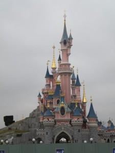 Pohádkový hrad z pohádky.