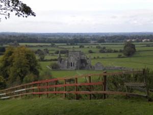 Jedna z irských zřicenin hradů