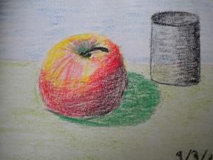 Jablko na zkoušku.
