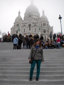 Bazilika s mlhou.