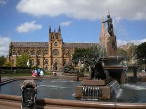 Katedrála v Sydney.
