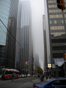 Je to jen mlha, žádný smog. :D