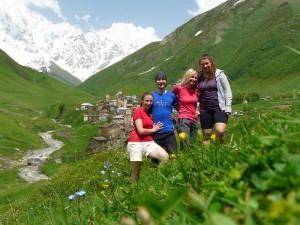 Oproti jiným vesnicím, tahle byla velmi turisticky vytížená.