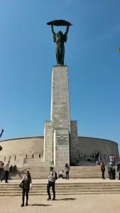 Pomník na vrcholku