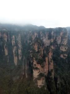 Park Zhangjiajie jak z Avatara.
